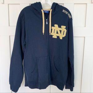 Champion Notre Dame Navy Blue Hoodie
